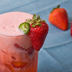 Spicy Strawberry Jalapeño Lemonade