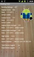 Screenshot of Bowling Stats
