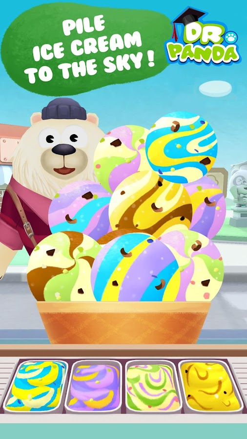 Dr. Panda's Ice Cream Truck Screenshot 2