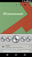 Screenshot of Poweramp skin Light Metallic