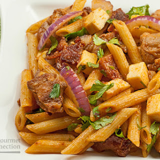 Barbecue Chicken Pasta