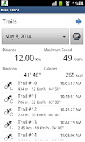 Screenshot of Bike Trace Free - GPS tracker