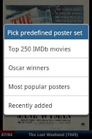 Screenshot of 10.000 Movie Posters