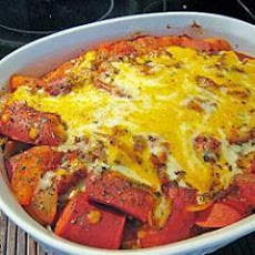 Sausage and Tomato Pasta Bake