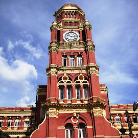 Yangon's British Colonial Buildings by Ilse Gibson - Buildings & Architecture Office Buildings & Hotels ( high court, myanmar, colonial architecture, rangon, yangon, burma,  )