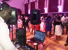 DJ - BLITZ AT A WEDDING RECEPTION AT THE EAILING TOWN HALL