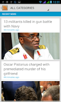 Screenshot of NewsBasket - News In Nigeria
