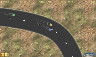 Screenshot of Car Racing
