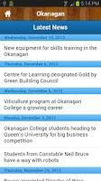Screenshot of Okanagan College