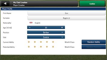 Screenshot of Football Manager Handheld 2014