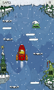 Doodle Jump Christmas Special Screenshot