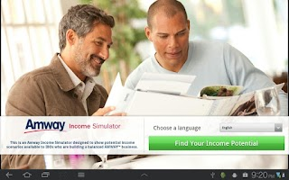 Screenshot of AMWAY™ Credibility
