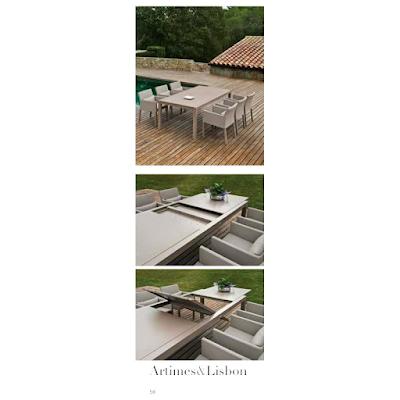 acheter table artimes narbonne chez arc en ciel dilengo. Black Bedroom Furniture Sets. Home Design Ideas
