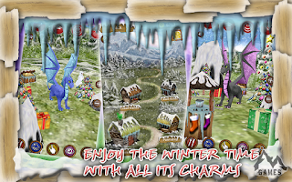 Screenshot of Dragon Pet: Christmas