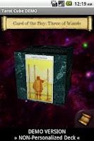 Screenshot of Tarot Cube DEMO