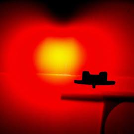 Infrared by Ayan Mukherjee - Abstract Macro