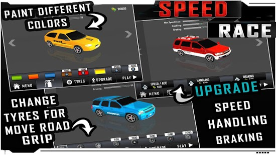 Speed Race ( 3D Highway Game ) - screenshot