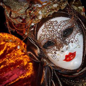 The Siren by Arti Fakts - News & Events World Events ( carneval, carnival, venice, mask, costume, artifakts, venezzia, party, eyes, festivity, disguised )