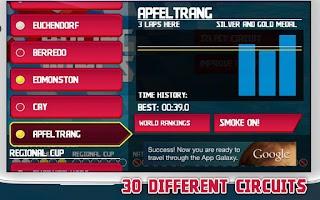 Screenshot of Racing Wings