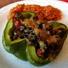 Mexican Stuffed Green Peppers