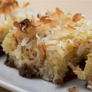 Coconut Cake Bars