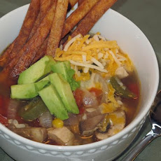 Sarahkaye's Spicy Chicken Tortilla Soup