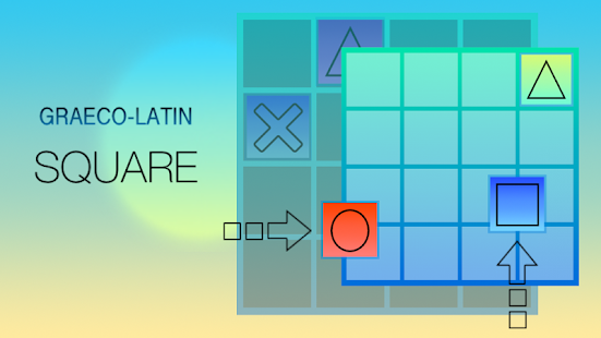 Graeco-Latin Square Screenshot
