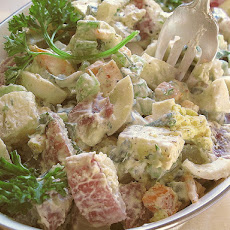 Hot Weather Potato Salad