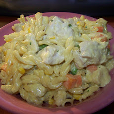 Curried Pasta Salad