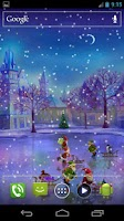 Screenshot of Christmas Rink Live Wallpaper