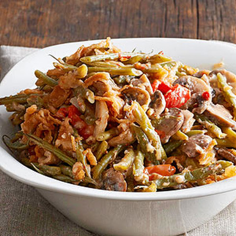 Smoky Green Bean Casserole