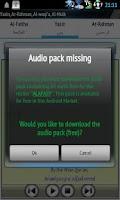 Screenshot of Yasin Audio (Abdul basit)