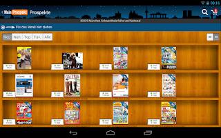 Screenshot of MeinProspekt XT 2.3 Android
