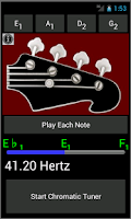 Screenshot of Bass Guitar Tuner and Strings