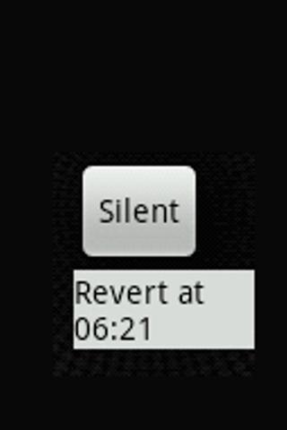 Ringer mode timer widget