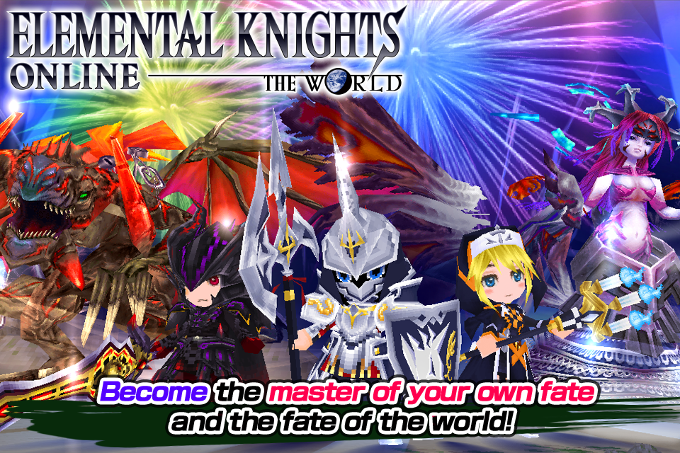 RPG Elemental Knights(3D MMO) Screenshot 8