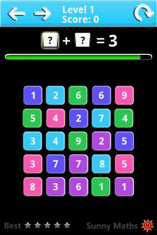 玩免費解謎APP|下載Sunny数学 Lite app不用錢|硬是要APP