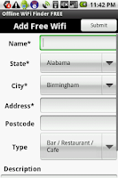 Screenshot of Offline WiFi Finder FREE
