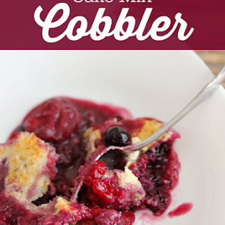 Cake Mix Cobbler