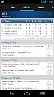 Screenshot of Gothia Cup
