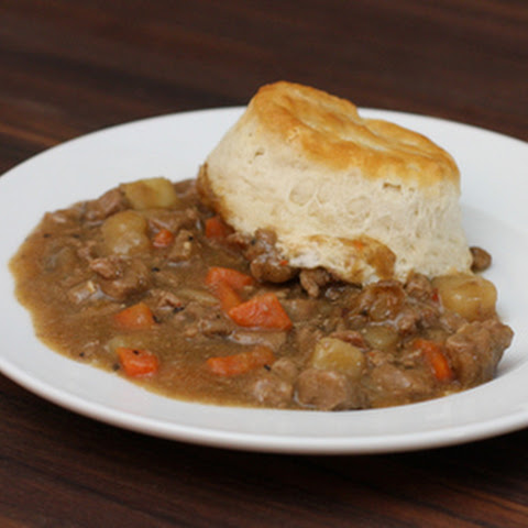 Beef and Biscuit Bake