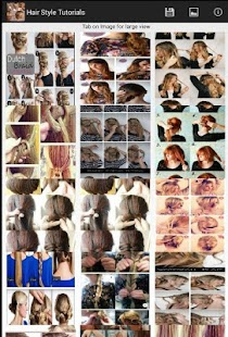 Hair Style Tutorial Step - screenshot
