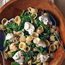 Orecchiette with Rapini and Goat Cheese