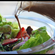 Strawberry Romaine Salad With Creamy Poppy Seed Dressing