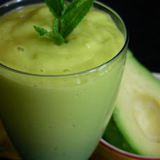 Green Machine Smoothies (Mango and Avocado)