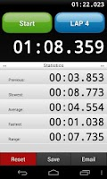 Screenshot of Stopwatch + Speech