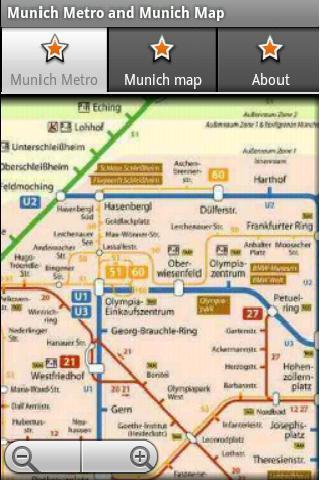慕尼黑地铁运行图 慕尼黑地图