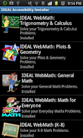 Screenshot of IDEAL Accessible App Installer