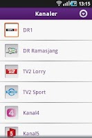Screenshot of Telia TV Remote