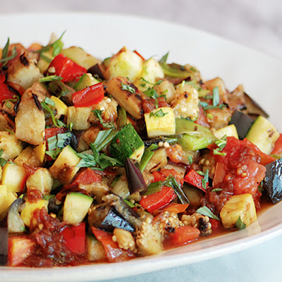 Grilled Ratatouille Salad